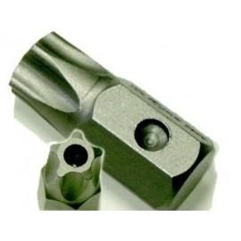 5 szögű TORX bit (lyukas) H:30 T-08